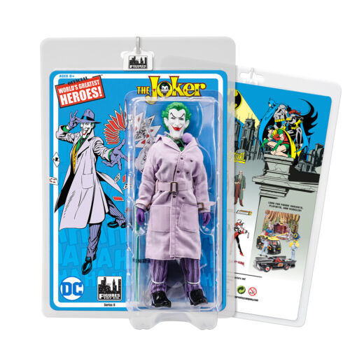 The Joker Batman Retro 8 Inch Action Figures Series 6