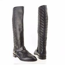 Stuart Weitzman Raceway Women's Shoes Black Leather Boots Size 9.5 M NEW! $695
