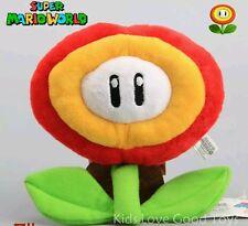 SUPER MARIO BROS. FIORE di FUOCO PELUCHE Plush Fire Flower Boo Peach Luigi