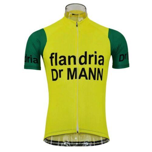 Dr Mann Retro Cycling Jersey Short Sleeve