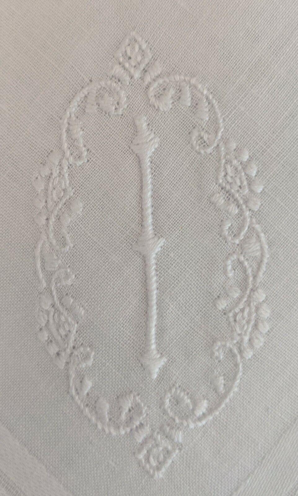 Men's Cotton Handkerchief White I Set of 3