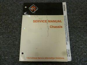 2001-2002 International IC Bus CE Series 3800 Electrical Wiring Diagram  Manual | eBayeBay