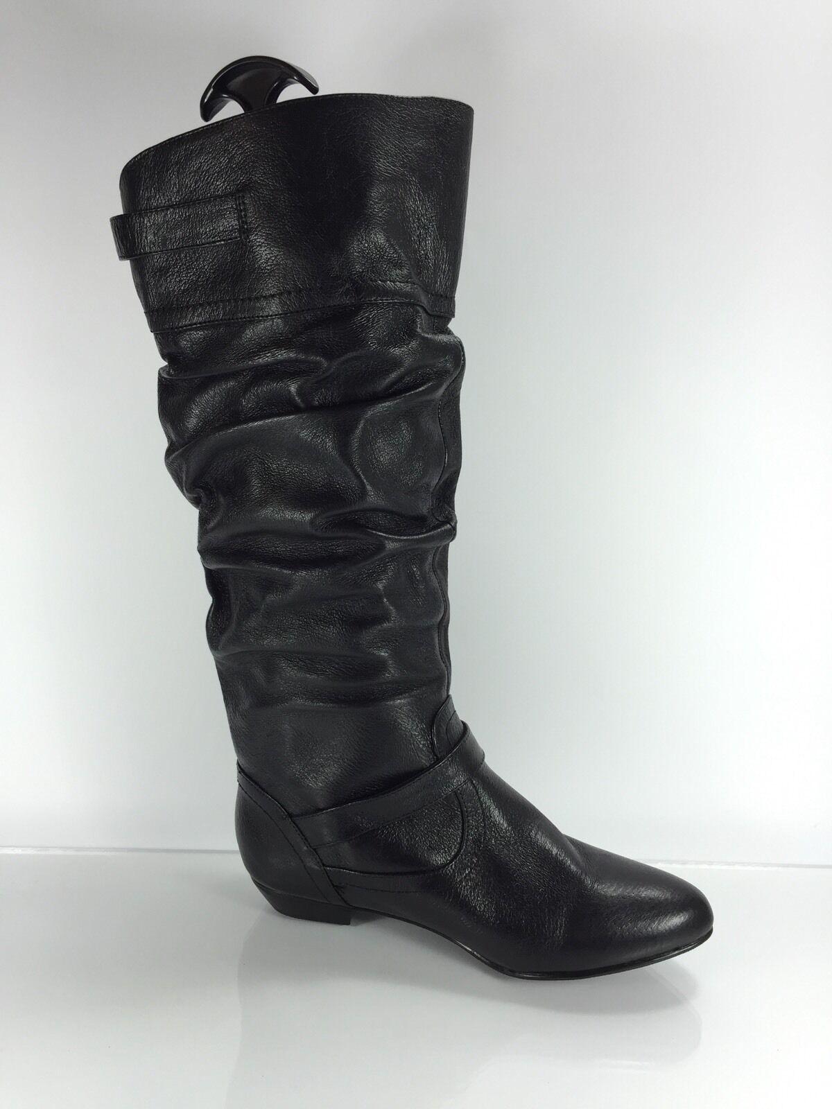 Steve Madden Para Mujer De Cuero rodilla Negro botas a la rodilla Cuero 8 M c88ffa