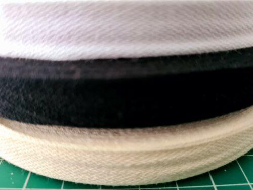 15mm cinta de algodón