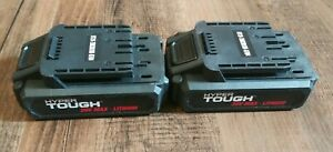 Set-of-2-Hyper-Tough-HT-Charge-20V-Max-Lithium-Ion-Batteries-For-Hyper-Tough
