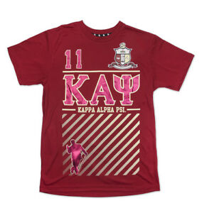 9c2a3fd2d79 Image is loading Kappa-Alpha-Psi-Fraternity-Mens-New-Graphic-Tee-