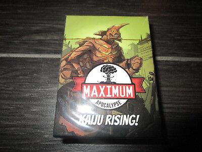 Maximum Apocalypse Kaiju Rising Expansion
