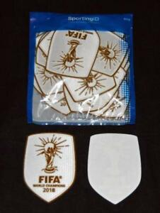 the best attitude 039dd eee8d Details about France Fifa World Cup 2018 Winner Football Shirt Patch/Badge  Sporting ID Home