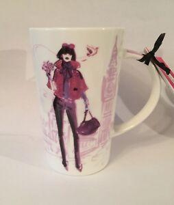 Hello-gorgeous-Lady-in-London-flowers-handbag-Big-Ben-IZAK-Ceramic-Latte-mug