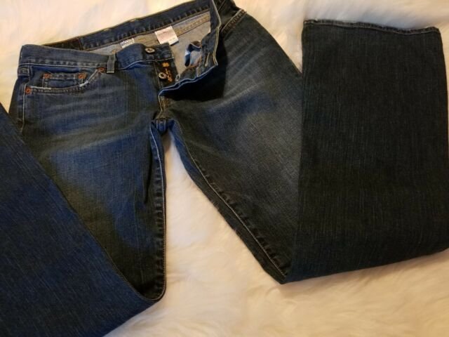 Lucky Brand Womens Jeans DREAM JEANS Size 10/30 Regular Button Fly Bootcut  Low