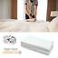 Hotel-Bettlaken-ohne-Gummizug-160x220-cm-mit-Falten-Betttuch-Laken-Baumwolle Indexbild 1