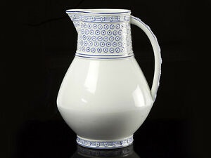 Wedgwood-Hand-Painted-Blue-and-White-Jug-1879