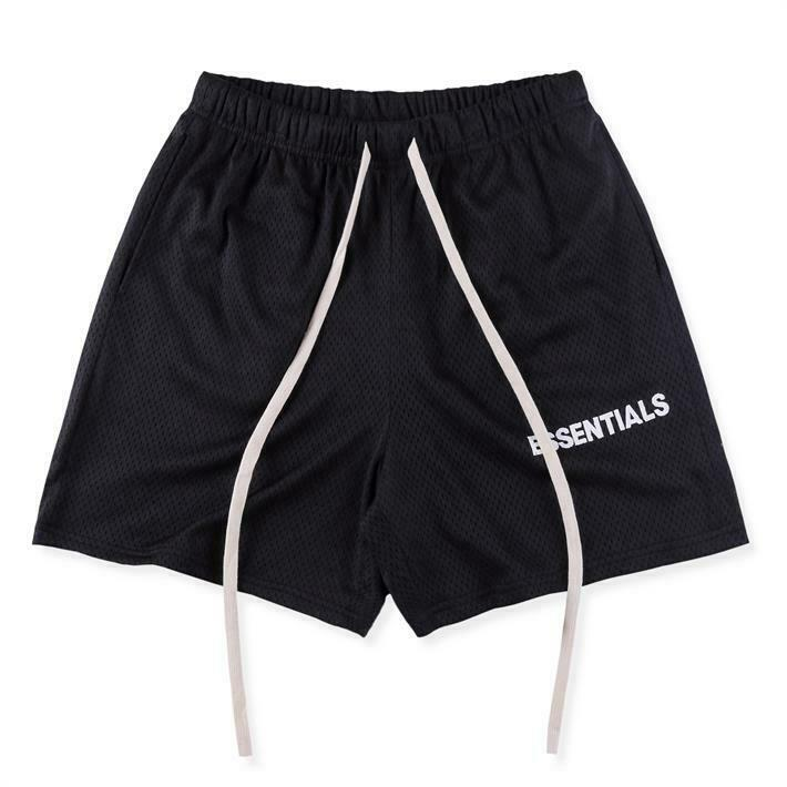 INS 19FW FOG Essentials Fear of God Shorts Sweatpant Fashion Casual Short Pants