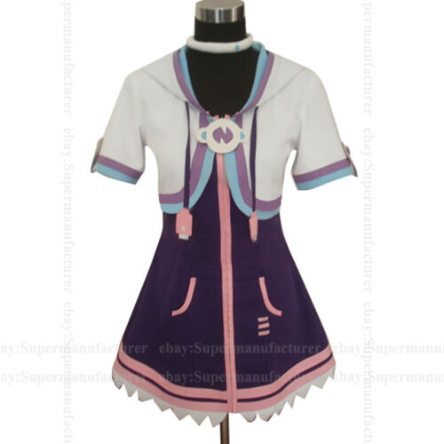 Hyperdimension Neptunia Purple Heart Uniform Cosplay Costume,Customized Any Size