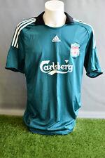 Liverpool Football Shirt Away Adult M Adidas 08/09 Camesita Soccer Jersey Trikot