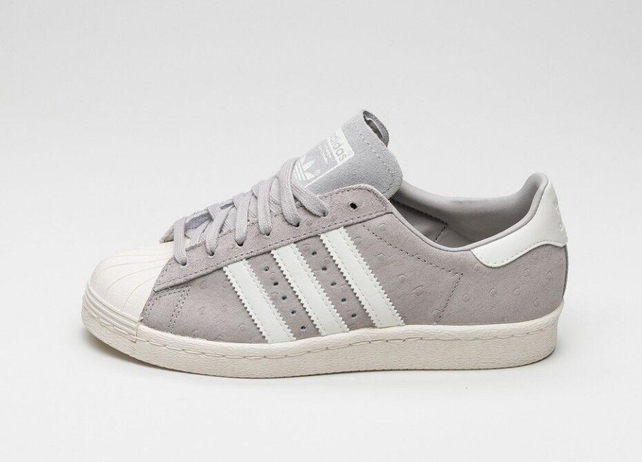 Adidas Originals Superstar 80s Women's Grey S75060 Gray NWT Rare