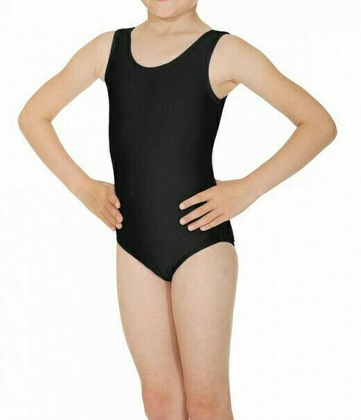ROCH VALLEY Joanne Age 7 to 8 Childs Kids 7-8 Sleeveless Nylon/Lycra Leotard