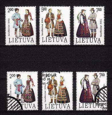 Trachten **/o Rheuma Und ErkäLtung Lindern 17497/ Litauen 1992 Mi 508/10