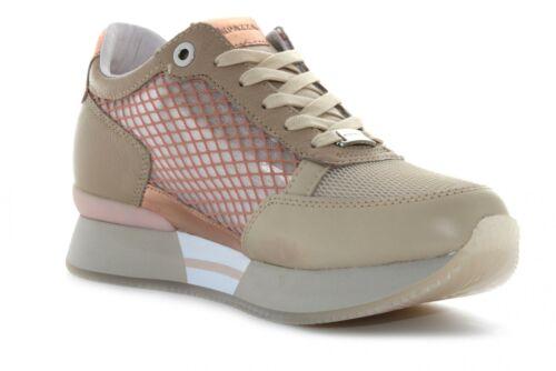 Apepazza P20s zapatos mujer zapatillas bajas S0RSD01 / NET ROSE CIPRIA