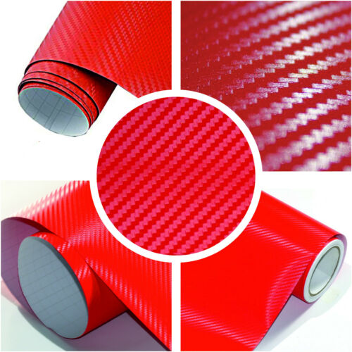 Premium Car Wrapping 3D Carbon Structure Bubble-Free Self Adhesive Flexible