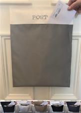 Man Craft Post Catcher Mail Catcher Letter Bag Cage Front Door Basket Mail Box