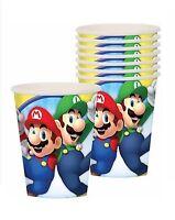 Super Mario Paper Cups 9oz