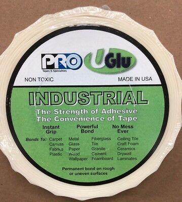 """Roll,amber Uglu 349uglu1065 Glues, Epoxies & Cements The Best Adhesive Tape,1"""" X 65 Ft"""