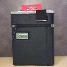 "NEW, Genuine Golla GIBB G1333 10.1"" Tablet Pocket Sleeve Bag Case (Black)"
