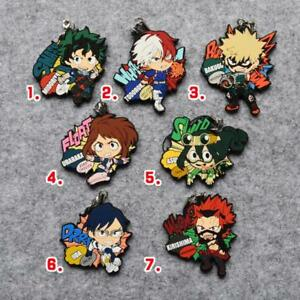 T973 Anime YU GI OH Rubber Keychain Key Ring Rare straps cosplay