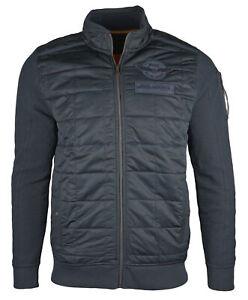 PME Legend Herren Jacke Sweater Übergangsjacke Steppjacke Sweatjacke PSW195410