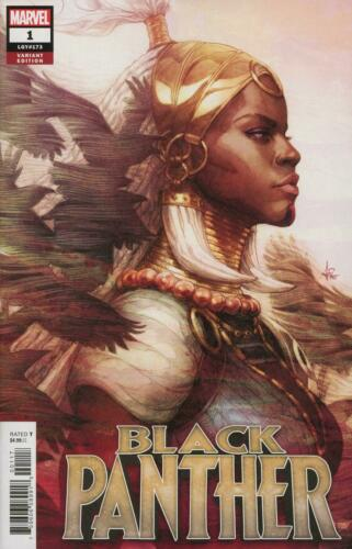 Marvel Comics Black Panther Vol 7 #1 Cover C Artgerm Shuri Variant