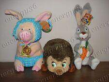 Soft friends Masha: Hedgehog, Pig, Rabbit from Masha and Bear (Маша и Медведь)