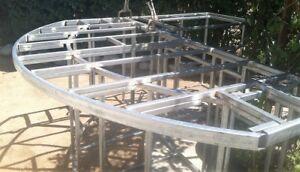 6 ft. Outdoor Kitchen Island Frame Kit - Fireside Outdoor ...  |Barbeque Island Frame Kit