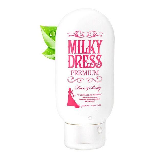 [MILKY DRESS]  The White Premium 100g / Korean cosmetics