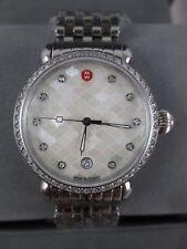 MICHELE CSX 36mm Mosaic White Pearl Face Diamond Watch - Mw03r01a1928