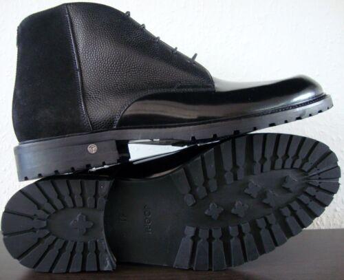 Boots Gr Echtleder 41 Schwarz Schuhe Joop Bootie Herren Neu Chukka Stiefelette FpwpqH