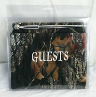 Mossy Oak Breakup Camo Guest Book Wedding Guestbook Special Occasion