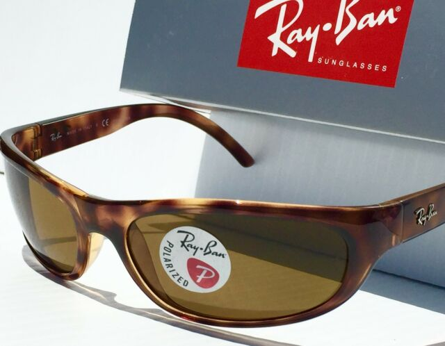 311cdc5cd5 NEW  Ray Ban RB4033 Sport wrap in TORTOISE POLARIZED Brown lens Sunglass