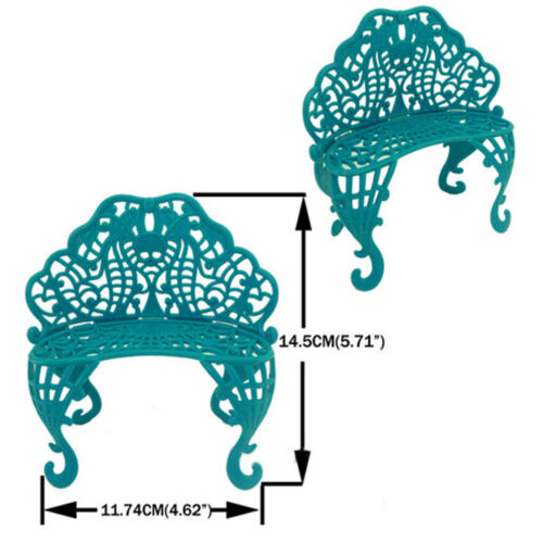 Amusement Bar Couch Chair Table Dessert Umbrella Kid Toy Doll House Furniture Jh