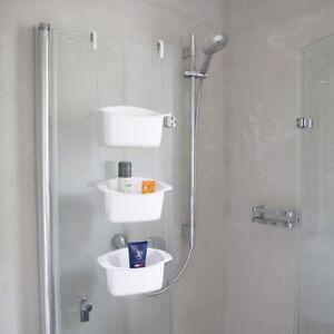 Möbel & Wohnen Badzubehör & -textilien Pflichtbewusst Umbra Shower Caddy Oasis Weiß Duschablage Dusche Regal Ablagekorb Duschkorb