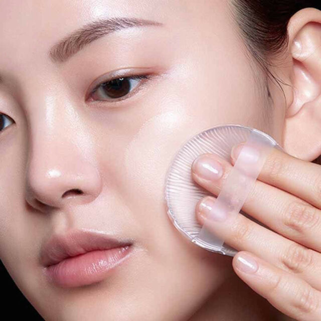 Silicone Gel Silisponge Makeup Cosmetic Powder Puff Foundation BB Cream Sponge