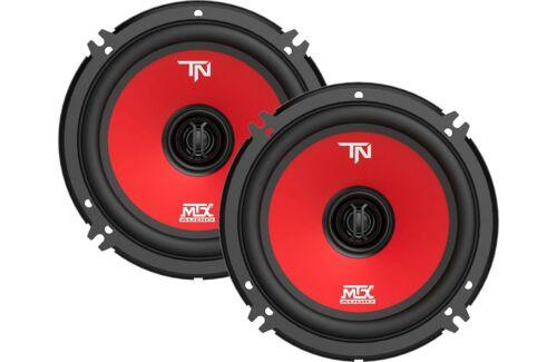 "MTX Terminator6 6.5/"" Pair 45 Watt RMS 2 Way Polypropylene Coaxial Car Speakers"
