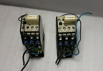 SIEMENS 3TB42 17-OB CONTACTOR 24VDC COIL LOT OF 2 $19