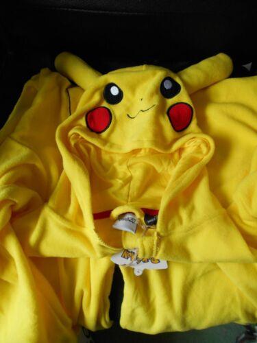 Bnwt Pokemon per Costume Xs Pikachu un Cosplay pezzo wSWHF