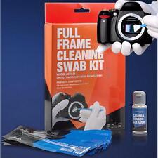 Full Frame DSLR Sensor Cleaning Kit Professional Camera 12 Swabs + 0.5oz Fluid