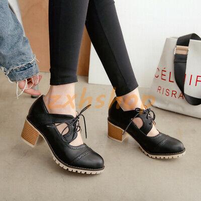 Budapester Rund Blockabsatz Lackleder Damen Schuhe Freizeit Slippers Mode