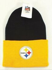 PITTSBURGH STEELERS NFL KNIT BEANIE WINTER HAT  NEW BY NFL TEAM APPAREL E-3