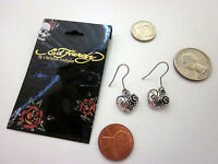 Earrings Ed Hardy By Christian Audigier All Stainless Steel Usa -