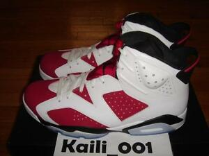 check out c192f 514ea Image is loading Nike-Air-Jordan-6-Retro-VI-Size-11-