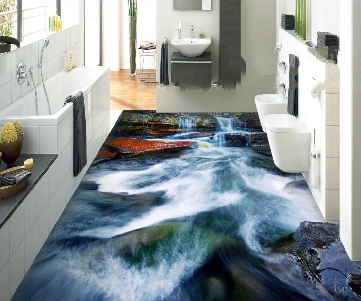 3D Fluss Muster 605 Fototapeten Wandbild Fototapete Tapete Familie DE Lemon